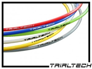 Hydraulikleitung Trialtech, Meterware gelb