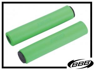 Lenkergriffe BBB Sticky soft 5,5mm - grün