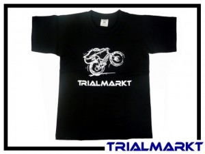 T-Shirt Trialmarkt Kids - Black 3/4 Jahre