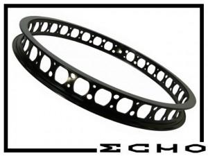 "HR-Felge 19"" Echo SL 45mm (32 Loch) - schwarz"