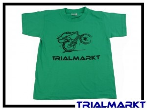 T-Shirt Trialmarkt Kids - Pacific Green 3/4 Jahre