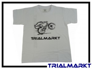 T-Shirt Trialmarkt Kids - White 3/4 Jahre