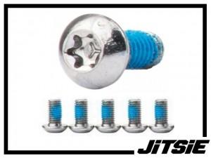 Schrauben Jitsie für Bremsscheibe - Stahl (6 St.)