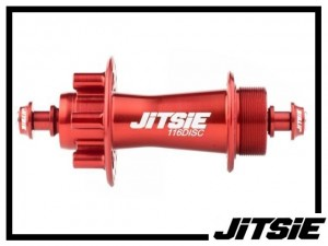 HR-Nabe Jitsie Race 116mm disc (32 Loch) - rot