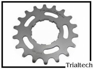 Ritzel Singlespeed Trialtech 17 Z. - schwarz