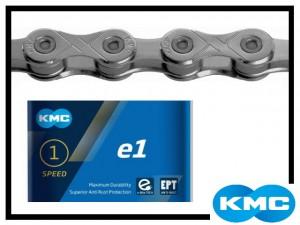 Kette KMC e1 EPT - narrow - silber