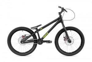 "Bike 22"" Inspired Flow Kids - schwarz matt"