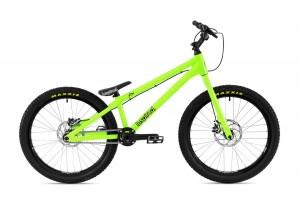 "Bike 24"" Inspired Flow Plus - neongrün"