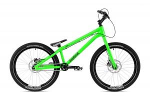 """Bike 24"""" Inspired Flow XP - grün metallic"""