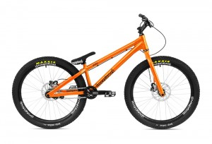 "Bike 26"" Inspired Hex Pro - orange Hope Tech 3 Trial disc - hydraulisch"