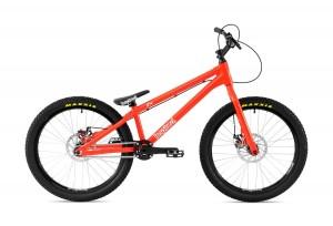 "Bike 24"" Inspired Flow Plus - neonrot"