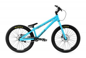"""Bike 24"""" Inspired Fourplay Pro - cyanblau matt"""