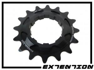 Ritzel Singlespeed Extention CNC 16 Z.