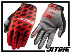 Handschuhe Jitsie G2 Danjon - rot