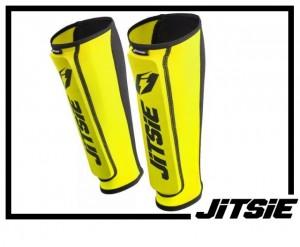 Schienbeinschützer Jitsie Dynamik - gelbgrün