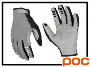 Handschuhe POC Index Air adjustable - aluminium grey