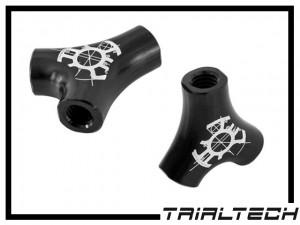 Trialtech Y-Verteiler für Hydraulikleitung - schwarz