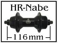 HR-Naben 116mm