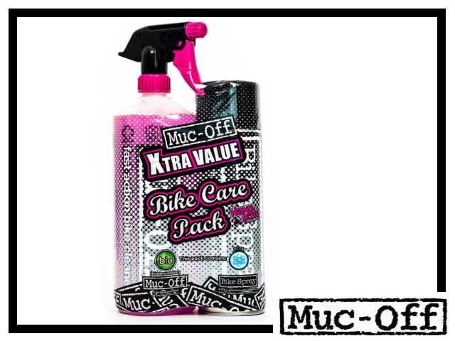 Muc-Off Bike Care Kit Reiniger + Bike Spray