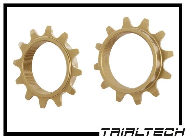 Schraubritzel Trialtech Sport 12 Z. Aluminium