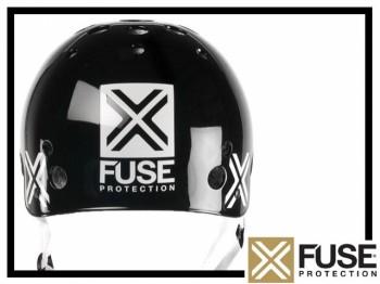 Helm Fuse Icon - schwarz XL (61-62cm)