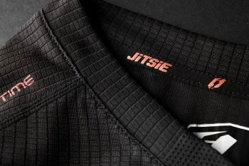 Jersey Jitsie Airtime kurzarm - schwarz/rot XXL