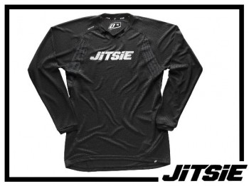 Jersey Jitsie Airtime langarm - schwarz/weiß XXL