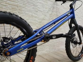 "Trial Bike 20"" Rockman Ash - blau"