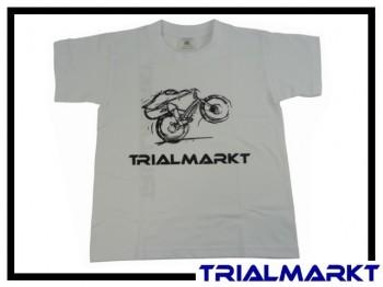 T-Shirt Trialmarkt Kids - White