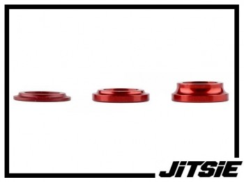 Naben-Spacer Jitsie Aluminium (Stück) - rot