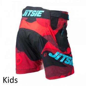 Short Jitsie B3 Squad - 2017 - red/teal