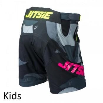 Short Jitsie B3 Squad - 2017 - yellow/violet