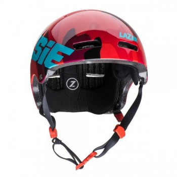Helm Jitsie Armor Squad - red/teal