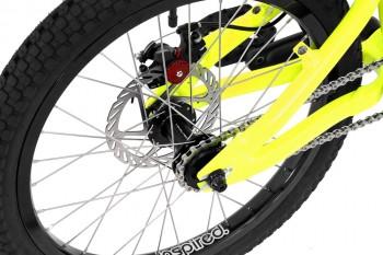 "Bike 20"" Inspired Flow Kids - neongelb"