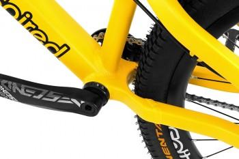 """Bike 24"""" Inspired Skye Team V3 - matt orange-gelb"""