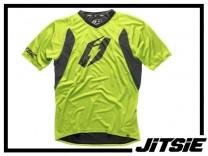 Jersey Jitsie Airtime kurzarm - grün Gr. Kids L