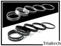 Singlespeed Spacerkit Trialtech - silber