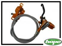 HR-Bremse Hope Tech 3 Trial PM Stahlflex - orange
