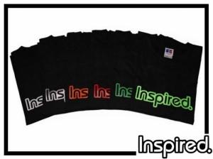 T-Shirt Inspired Logo - schwarz - Gr. XXL