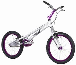 "Trial Bike 20"" Onza Rip - silber"