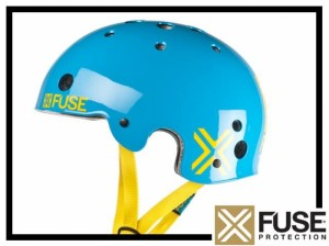 Helm Fuse Icon - cyan