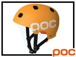 Helm POC Receptor Flow - cadmium orange