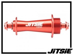 HR-Nabe Jitsie Race 116mm non-disc (32 Loch) - rot