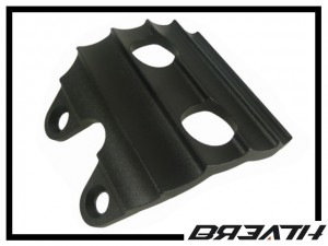Unterschutzplatte Breath 4-Loch - schwarz