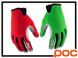 Handschuhe POC Index Air - thallium green/bohrium red