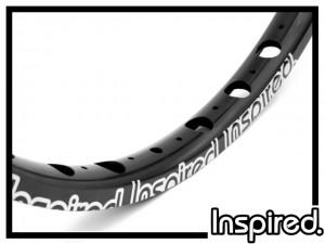 "Felge 24"" Inspired Team disc 36mm (32 Loch) - schwarz"