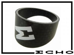 Adapterspacer Echo Carbon für schräge Gabelklemmung