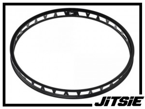 "HR-Felge 26"" Jitsie Single Wall 48mm (32 Loch) - schwarz"
