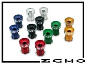Kurbelschrauben Echo Aluminium M15 silber