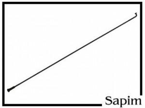 """Speiche Sapim Leader 20"""" schwarz 160mm"""